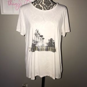 """AE soft and sexy T """"chasing the sunset"""" Large"""